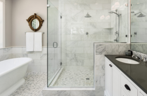 Sliding shower screens East Hills
